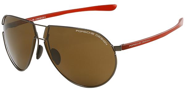 Porsche Flexible Stainless Steel Sunglasses
