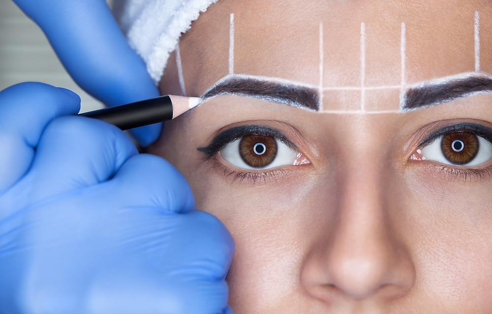 Semi Permanent Eyebrows - Microblading
