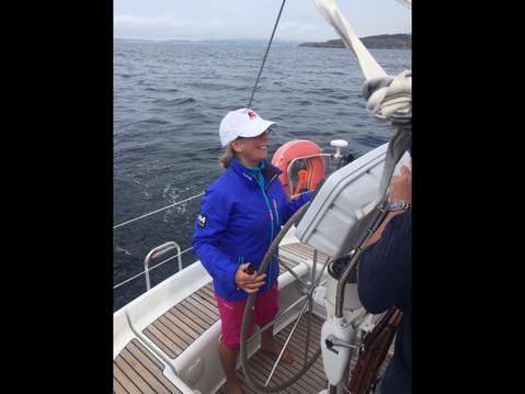 Sailing Windsong in Vigo