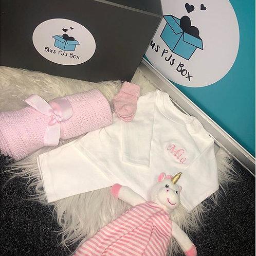 Personalised Newborn Baby Box