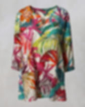 Printed-Linen-Kaftan-Tunic-in-Multi-Out-