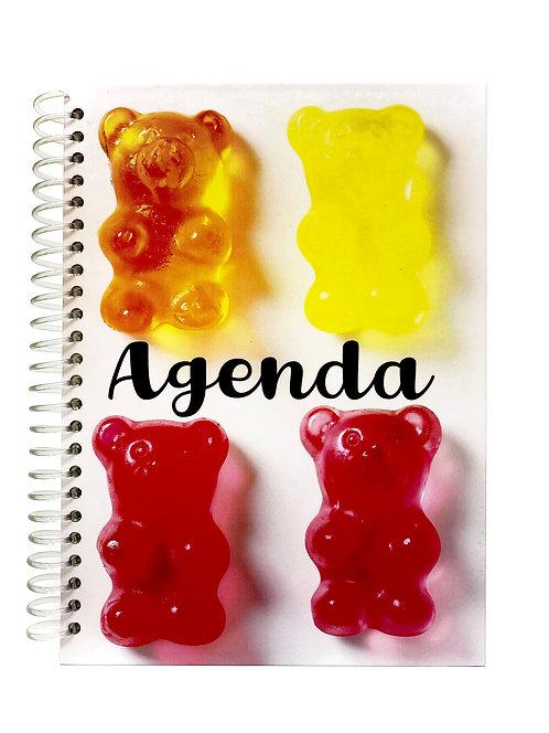 Agenda Semanal Gomitas de Oso