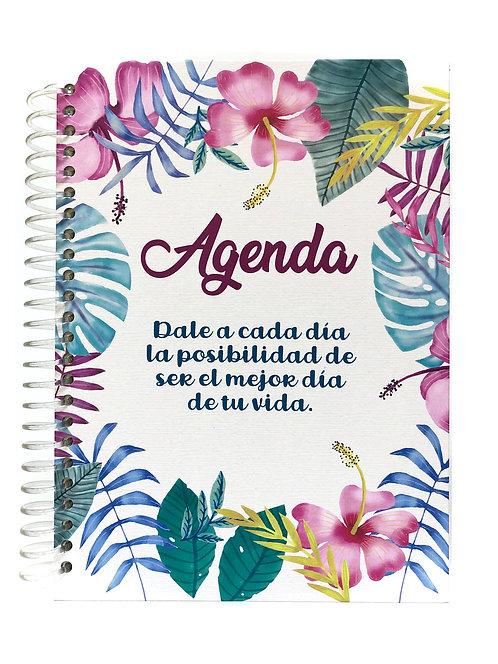 Agenda Semanal Flores y Colores
