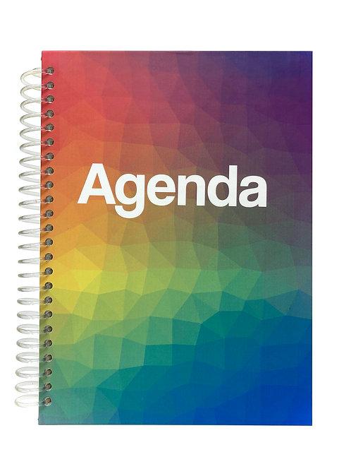 Agenda Diaria Mosaico de Colores