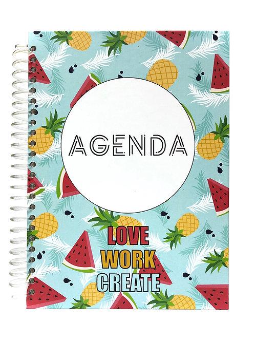 Agenda Semanal Piña - Sandía