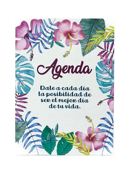 Agenda Flores y colores.
