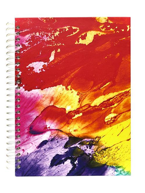 Libreta Paleta de Colores.