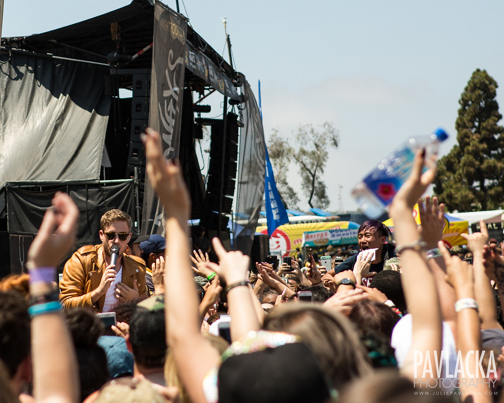 The Summer Set | Warped Tour | San Diego, CA