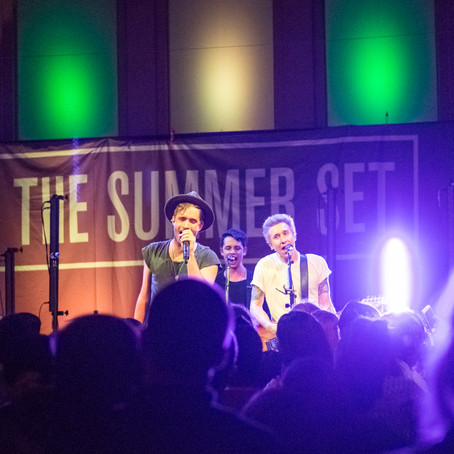 The Summer Set - The Irenic - San Diego, CA (2016.04.15)