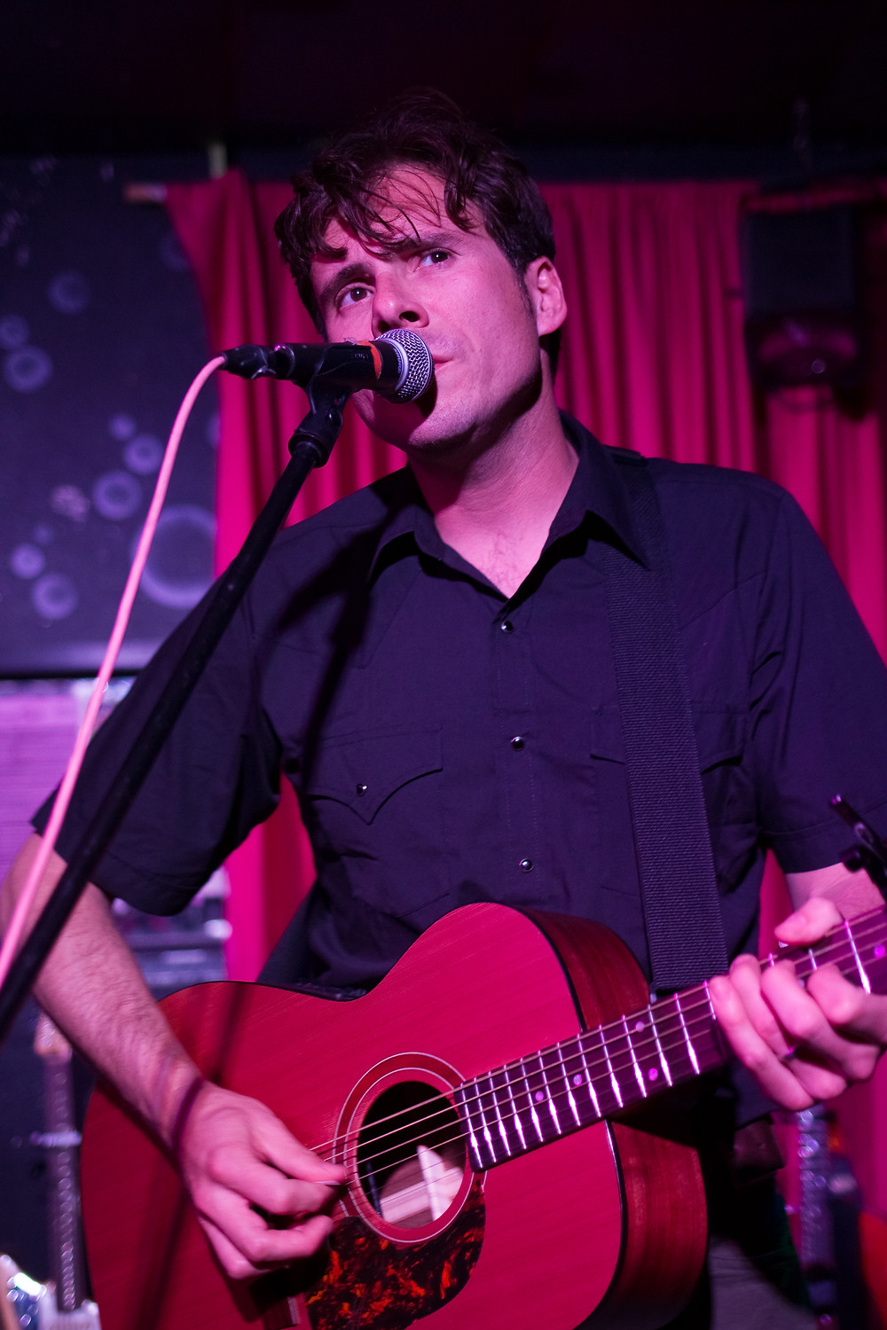 Jim Adkins, Jimmy Eat World, Bar Pink, Acoustic, Concert, Concert Photography, Live Music