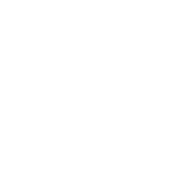 Large Square with Thick Diagonal Stripes White