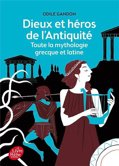 Dieux et héros de l'antiquité ; toute la mythologie grecque et latine - Odile Ga