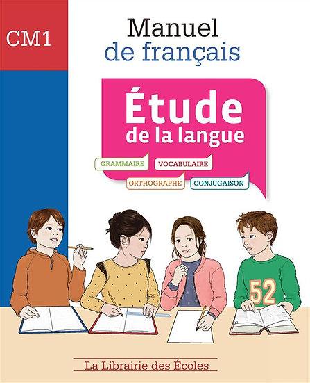 Manuel de français ; étude de la langue ; CM1