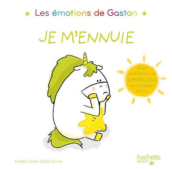 Les émotions de Gaston Je m'ennuie Aurélie Chien Chow Chine