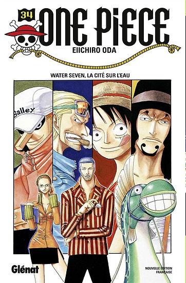 One Piece - édition originale T.34 ; Water Seven, la cité de l'eau