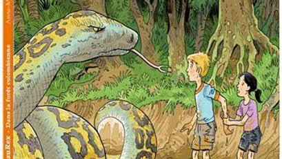 Dinosaurex T.2 ; dans la forêt colombienne