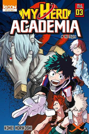 My hero Academia T.3 ; All Might