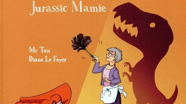 Mortelle Adèle T.16 Jurassic Mamie