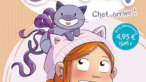 Mistinguette & Cartoon T.1 ; chat arrive !