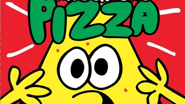 Comment manger une pizza Jon Burgerman