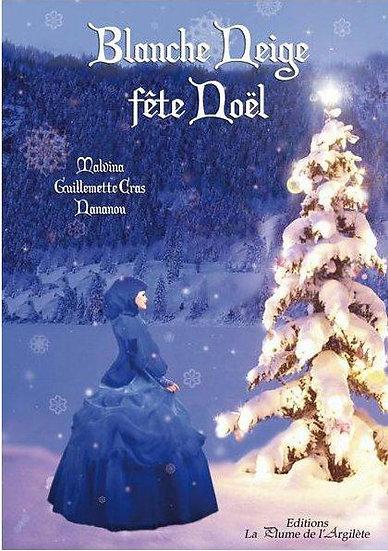Blanche Neige fête Noël (Livre + cd audio) (adapté aux lecteurs dyslexiques)