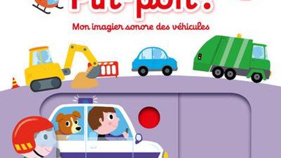 Pin-pon ! mon imagier sonore des véhicules
