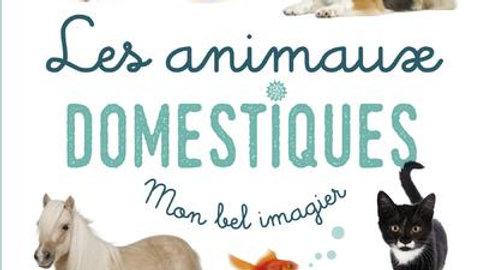 Mon bel imagier : les animaux domestiques