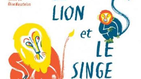 Le lion et le singe