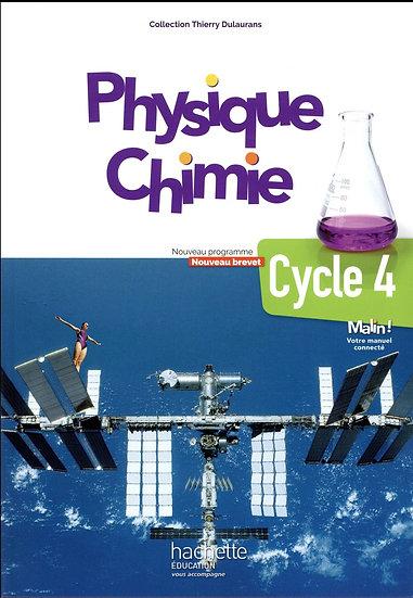 Physique-chimie ; cycle 4 / 5e, 4e, 3e ; livre de l'élève (édition 2017)