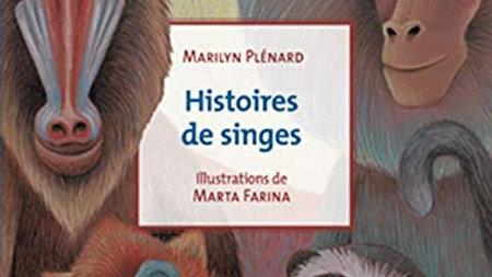 Histoires de singes Marilyn Plénard, Marta Farina (Illustrateur)