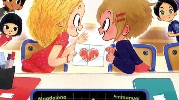 Je suis en CP ; les amoureux (1 histoire + 1 dico mot-image + des activités ludi