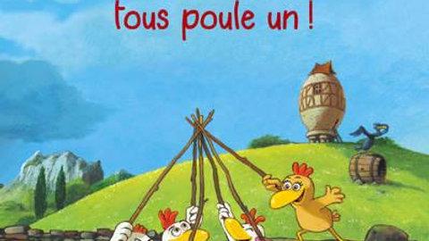 Les P'tites Poules T.10 ; un poule tous, tous poule un ! (édition souple)