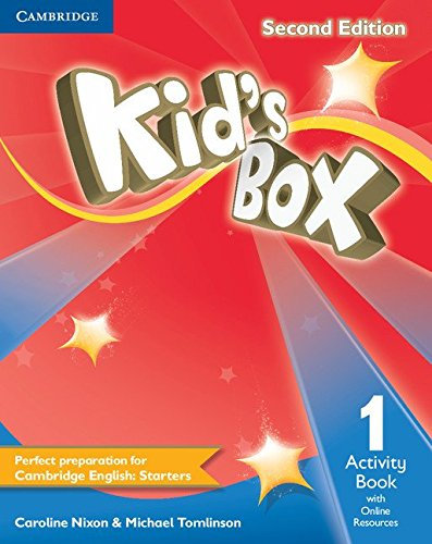 Kid's box second level 1 edition activity book with online resources