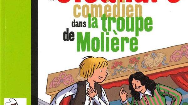 Cléandre, jeune comédien de la troupe - Molière