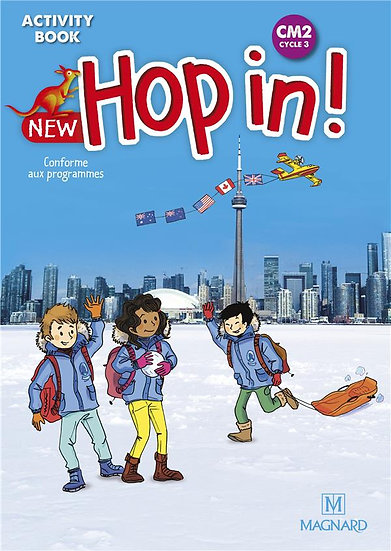 New hop in ! ; anglais ; CM2 cycle 3 ; activity book (édition 2020)