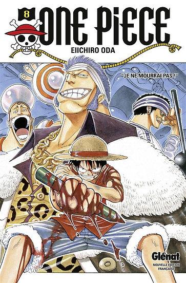 One Piece - édition originale T.8 ; je ne mourrai pas !