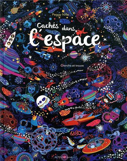 Cachés dans l'espace ; cherche et trouve