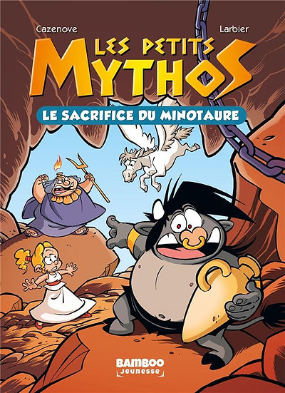 Les Petits Mythos T.1 ; le sacrifice du minotaure