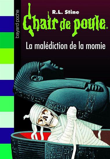 Chair de poule t.1 ; la malédiction de la momie