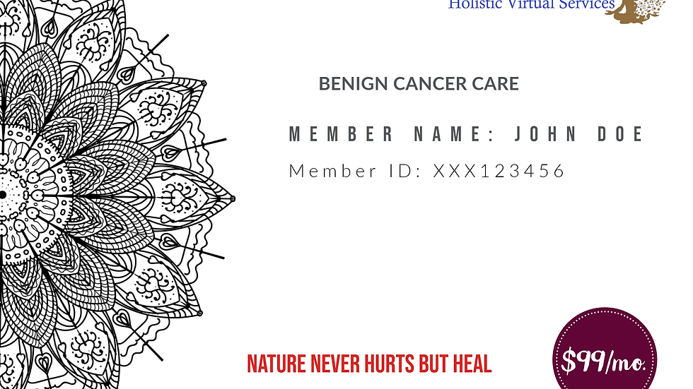 Benign Cancer Care