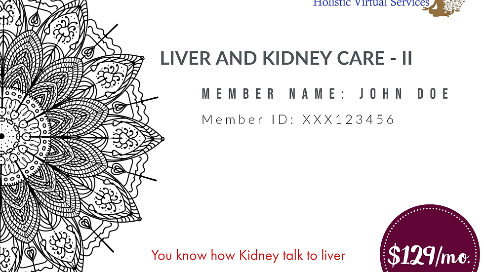 Liver and Kidney Care - II
