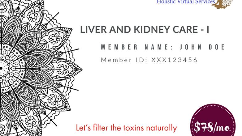 Liver & Kidney Care -I