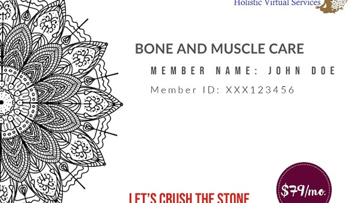 Bone and Muscle Care