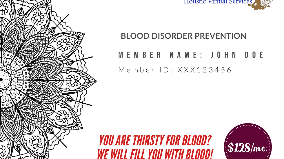 Blood Disorder Prevention