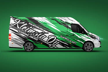 Mercedes Benz Sprinter teippaussuunnittelu / Livery Design