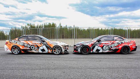 BMW E92 Drifting-auton teippaukset ja suunnittelu
