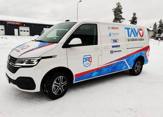 VW Transporter teippaus & teippaussuunnittelu