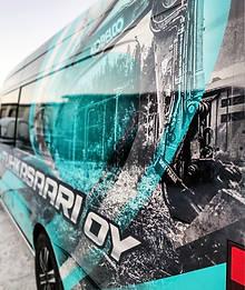 Mercedes Benz Sprinter teippaus & teippaussuunnittelu / Liverydesign & wrap