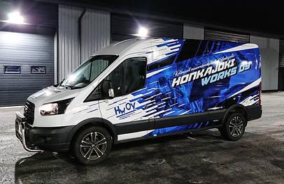 Ford Transit teippaus & teippaussuunittelu / Liverydesign & wrap