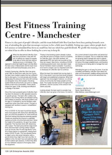 Best Fitness Training Centre - Manchester
